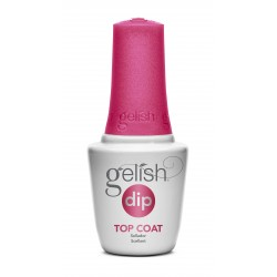 Gelish DIP Top Coat, 15 ml - шаг 4 - верхнее покрытие