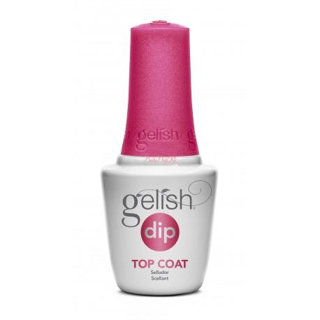 Gelish DIP Top Coat, 15 ml - шаг 4 - верхнее покрытие