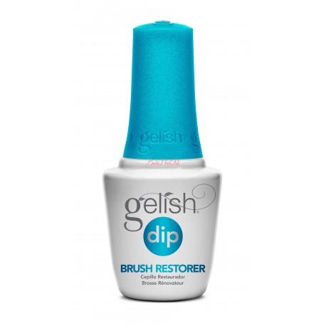 Gelish DIP Brush Restorer, 15 ml - шаг 5 (необязательный) - восстановитель кистей