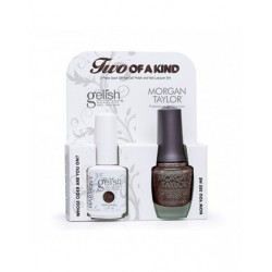 GELISH/MORGAN TAYLOR Get Color Fall DUO - набор Get Color Fall (01848 +50141 по 15 мл)