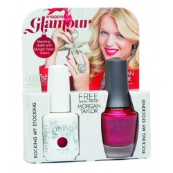 GELISH/MORGAN TAYLOR Wrapped In Glamour DUO - набор Wrapped In Glamour (1100091 + 50237 по 15 мл)