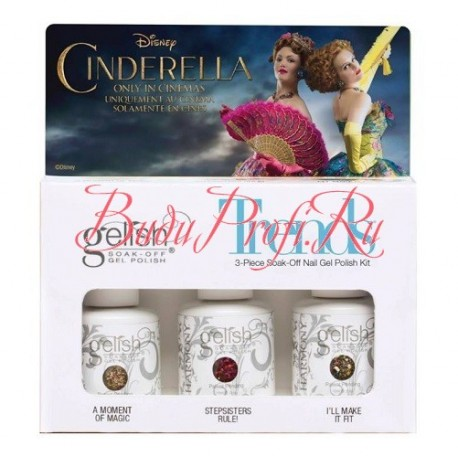 "GELISH Trends Kit Cinderella Collection - набор гель-лаков ""Trends"" (01060, 01061, 01062 по 15 мл)"