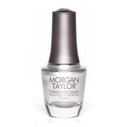 "Morgan Taylor ""Oh Snap, It's Silver"", 15 ml - лак для ногтей ""Серебряный призер"", 15 мл"