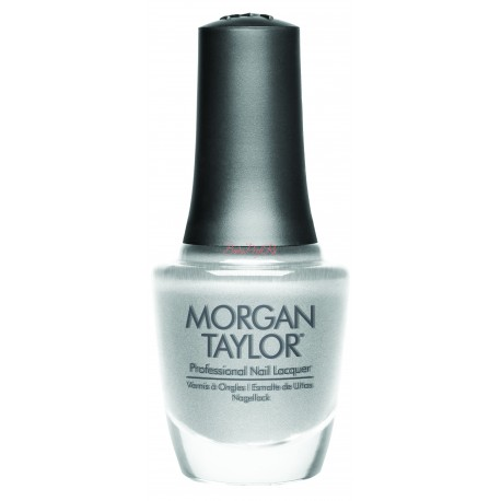 "Morgan Taylor ""Gifted in Platinum"", 15 ml - лак для ногтей ""Платиновая огранка"", 15 мл"