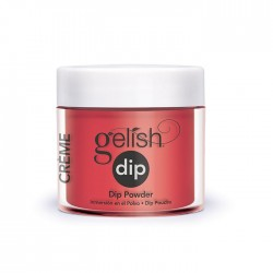 "Gelish DIP powder ""Scandalous"", 23g - акриловая пудра ""Скандалистка"""