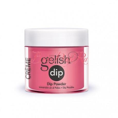 """Gelish DIP powder """"Passion"""", 23g - акриловая пудра """"Страсть"""""""