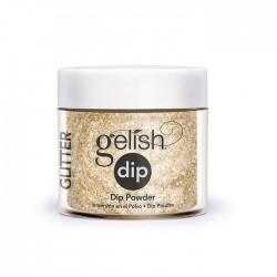 """Gelish DIP powder """"All That Glitters Is Gold"""", 23g - акриловая пудра """"Золотое сечение"""""""