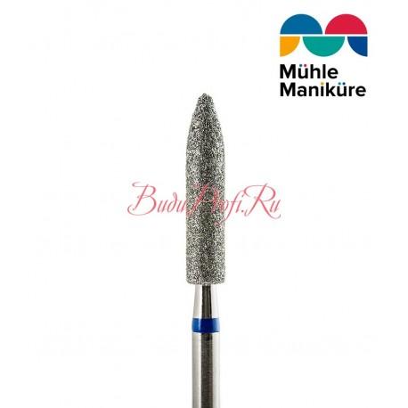 Бор алмазный цилиндр заостренный (Средняя 524)