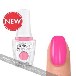"GELISH ""Make You Blink Pink"", 15 ml - гель-лак ""Розовое мерцание"", 15 мл"
