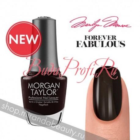 """Morgan Taylor """"Batting My Lashes"""", 15 ml - лак для ногтей"""