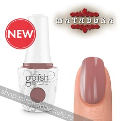 "GELISH ""Mauve Your Feet"", 15 ml - гель-лак ""Мальва"""