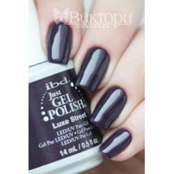 IBD, гель-лак №57082, Luxe Street, 14 мл. Насыщенная пурпурная плотная эмаль