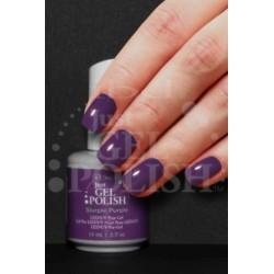 IBD, гель-лак №56594, Slurple Purple, 14 мл. Плотная припыленная фиолетовая эмаль