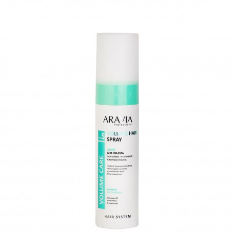 Спрей для объема для тонких и склонных к жирности волос Volume Hair Spray, 250 мл