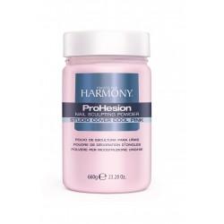 HARMONY Studio Cover Cool Pink Powder, 660 g - камуфлирующая светло-розовая акриловая пудра, 660 г