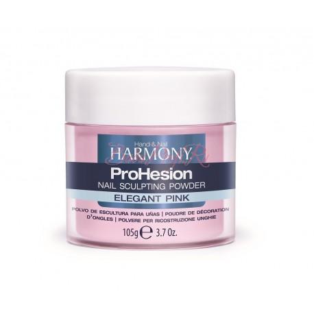 HARMONY ProHesion Elegant Pink Powder, 105 g - прозрачно-розовая акриловая пудра, 105 г