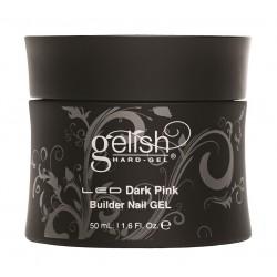 GELISH Hard Gel - Dark Pink Builder Gel, 50 ml - плотный розовый конструирующий гель, 50 мл
