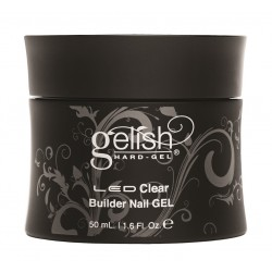 GELISH Hard Gel - Clear Builder Gel, 50 ml - прозрачный конструирующий гель, 50 мл
