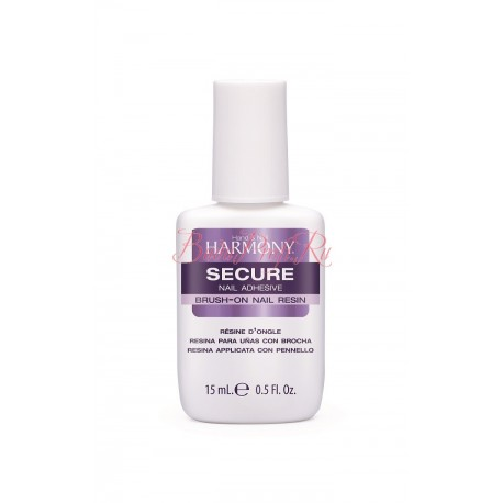 HARMONY ProHesion Secure Nail Adhesive, 15 ml - клей для типсов с кисточкой, 15 мл