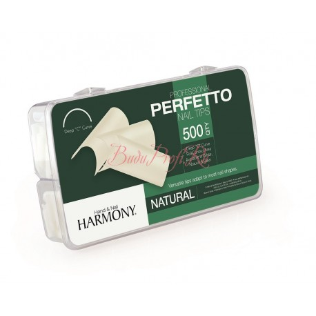 HARMONY Natural Tips - типсы натуральные, 500 шт.