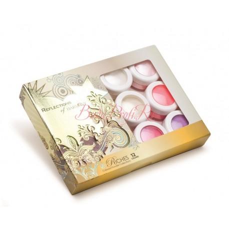 "HARMONY Acrylic Colored Powder ""Riches"" - коллекция цветных акрилов ""Сокровища"" (12 шт/уп)"