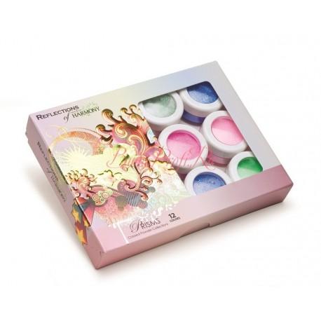 "HARMONY Acrylic Colored Powder ""Prisms"" - коллекция цветных акрилов ""Призма"" (12 шт/уп)"