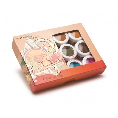 "HARMONY Acrylic Colored Powder ""Olympus"" - коллекция цветных акрилов ""Олимп"" (12 шт/уп)"