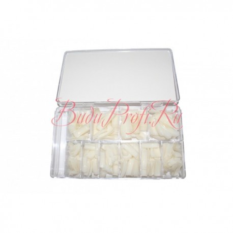 GELISH Natural Tips 100 pc - типсы 100 шт