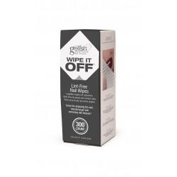 GELISH Wipe It Off - безволоконные салфетки (набор), 300 шт.