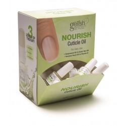GELISH MINI Nourish Display 24pc - дисплей с маслом для ногтей и кутикулы (24 шт по 9 мл)